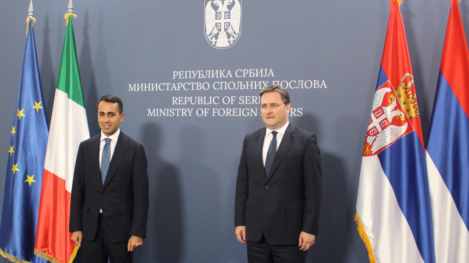 Селаковић: Захвалност Италији на подршци европском путу Србије