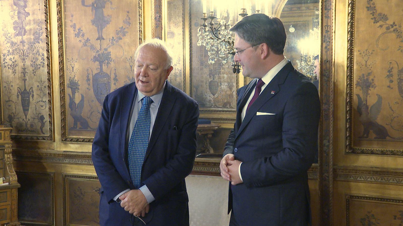 Селаковић разговарао са високим представником Алијансе цивилизација УН